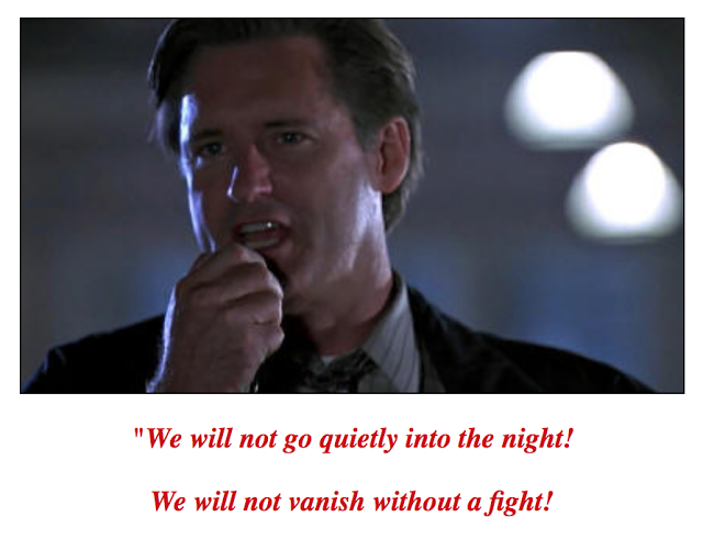 Independence Day quote: We Will Not Go Quietly into the Night