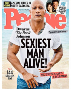 Dwayne Johnson Named People Magazine's sexiest man alive