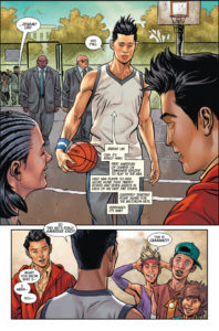 Jeremy Lin in Totally Awesome Hulk